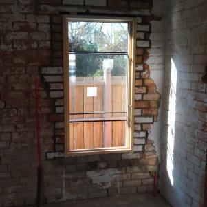 Window 1 in place