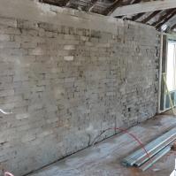 Penny's wall - Precoat