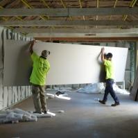 Big sheets of plaster!