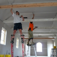 Stilts - for hard to reach places